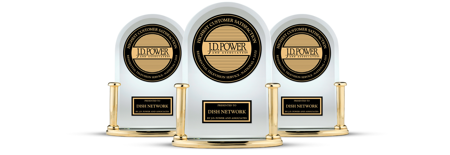 DISH Customer Satisfaction - Ranked #1 by JD Power - Shoals Satellite Sales & Service in Tuscumbia, Alabama - DISH Authorized Retailer